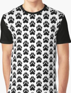 Wolf PawPrint Graphic T-Shirt