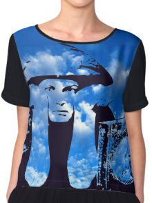 MAGIC IN THE CLOUDS with Aleister Crowley Chiffon Top