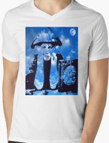 MAGIC IN THE CLOUDS with Aleister Crowley Mens V-Neck T-Shirt