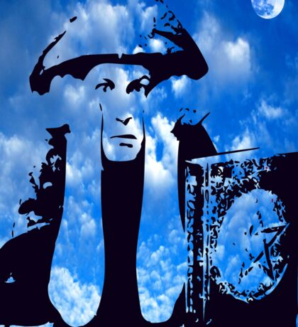 MAGIC IN THE CLOUDS with Aleister Crowley Sticker