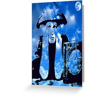 MAGIC IN THE CLOUDS with Aleister Crowley Greeting Card