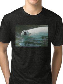 Polar Bear 8620cr Tri-blend T-Shirt