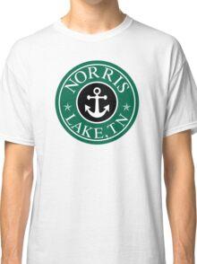 NORRIS LAKE TENNESSEE ROUND ANCHOR TN STAR NAUTICAL Classic T-Shirt