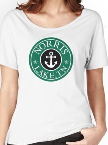 NORRIS LAKE TENNESSEE ROUND ANCHOR TN STAR NAUTICAL Women's Relaxed Fit T-Shirt
