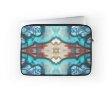 Blue Abstract Design Laptop Sleeve