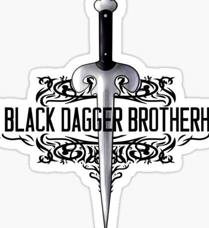 The Black Dagger Brotherhood  [black text] Sticker