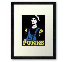 The Warriors Punks Framed Print