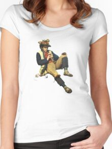The Piper of Hamelin Women's Fitted Scoop T-Shirt