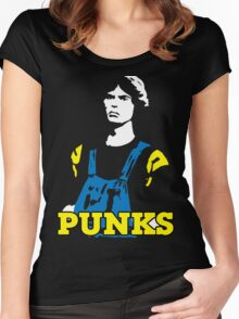 The Warriors Punks Women's Fitted Scoop T-Shirt