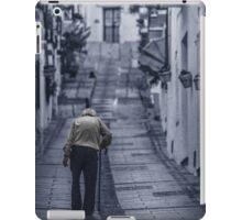 Blue lonely street iPad Case/Skin