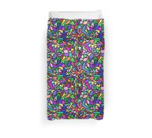Funky Colorful Mosaic Duvet Cover