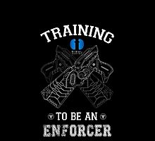 Training to be an enforcer by ShadowFallen
