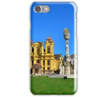 timisoara union square panorama iPhone Case/Skin