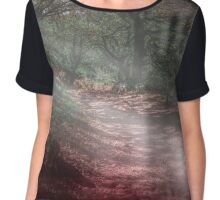 Magical forest scene Chiffon Top