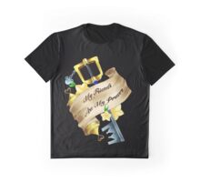 My Friends Are My Power Graphic T-Shirt