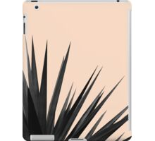 Black Palms on Pale Pink iPad Case/Skin