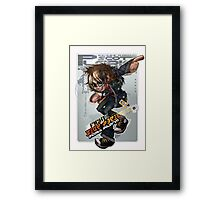 Scott Pilgrim Fight! (Alt) Framed Print