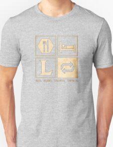 Eat. Sleep. League. Repeat. T-Shirt