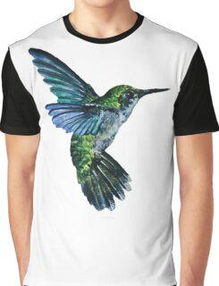 Nature Hummingbird Graphic T-Shirt