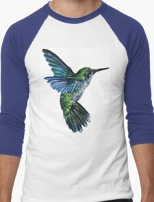 Nature Hummingbird Men's Baseball ¾ T-Shirt