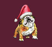 Christmas Bulldog Unisex T-Shirt