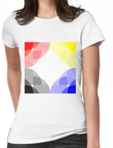 Primary Colours Womens Fitted T-Shirt