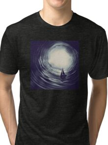 Sail Away to Heaven Tri-blend T-Shirt
