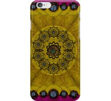 Yin and Yang in pattern and landscape style iPhone Case/Skin