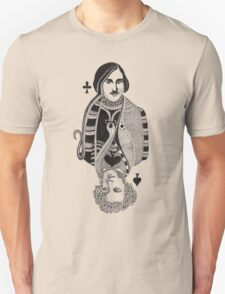 Gogol vs Pushkin Unisex T-Shirt
