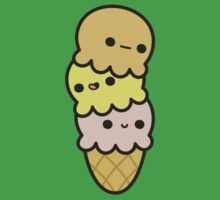 Cute ice cream One Piece - Short Sleeve
