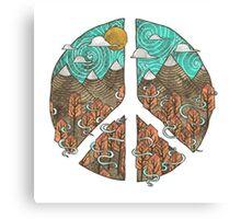 Mountain Peace Canvas Print