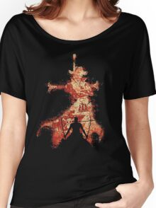 zoro vs mihawk 'one piece' Women's Relaxed Fit T-Shirt