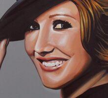 Carice van Houten Painting Sticker