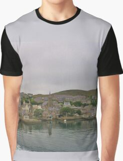 Leaving Stromness Graphic T-Shirt