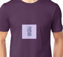 How to Count in Theatre Unisex T-Shirt