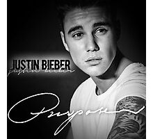 "BEST POSTER JUSTIN BIBIER "" PURPOSE "" WORLD TOUR 2016 Photographic Print"