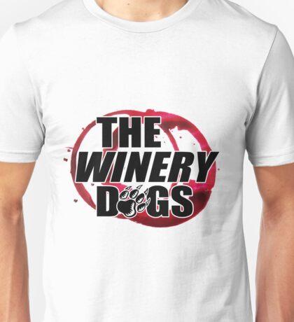 the winery dogs logo white wulan Unisex T-Shirt