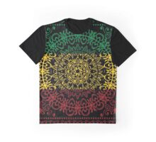Rasta Paisley Graphic T-Shirt