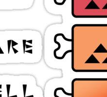 Monster Hunter STEAK Sticker