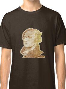 Alexander Hamilton portrait typography Classic T-Shirt