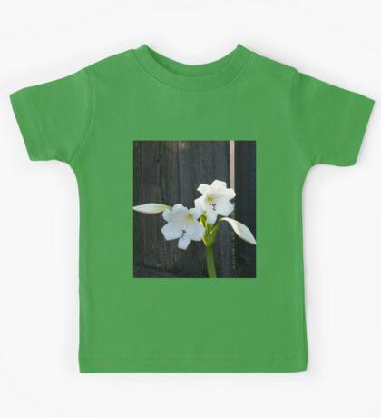 White Lilies Kids Tee