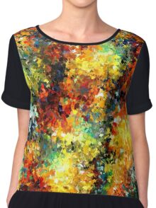 modern composition 02 by rafi talby Chiffon Top