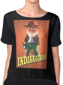 Indiana Gnomes Chiffon Top