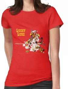 luckyluke Womens Fitted T-Shirt
