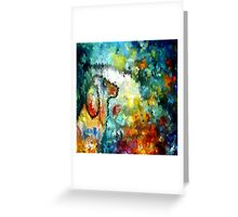 modern composition 04 by rafi talby Greeting Card