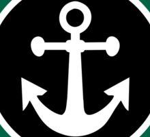 LAKE MICHIGAN ROUND ANCHOR MI STAR NAUTICAL Sticker