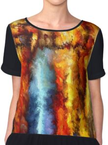 modern composition 05 by rafi talby Chiffon Top