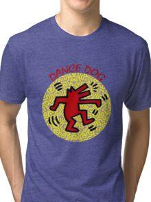 DANCE DOG Tri-blend T-Shirt