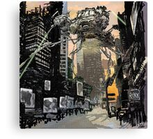 Invasion of the Earth Canvas Print