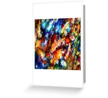 modern composition 06 by rafi talby Greeting Card